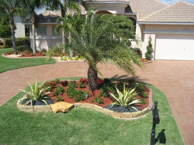 Tropical Landscaping Ideas Small Front Yard Garden Design
