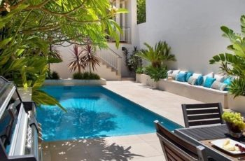 2 Small Backyard Ideas Designing Chic Outdoor Spaces With Swimming in Small Backyard Landscaping Ideas With Pool