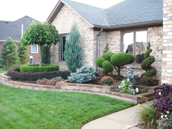 25+ Best Ideas About Front Yards On Pinterest | Front Yard regarding Garden Ideas For A Front Yard