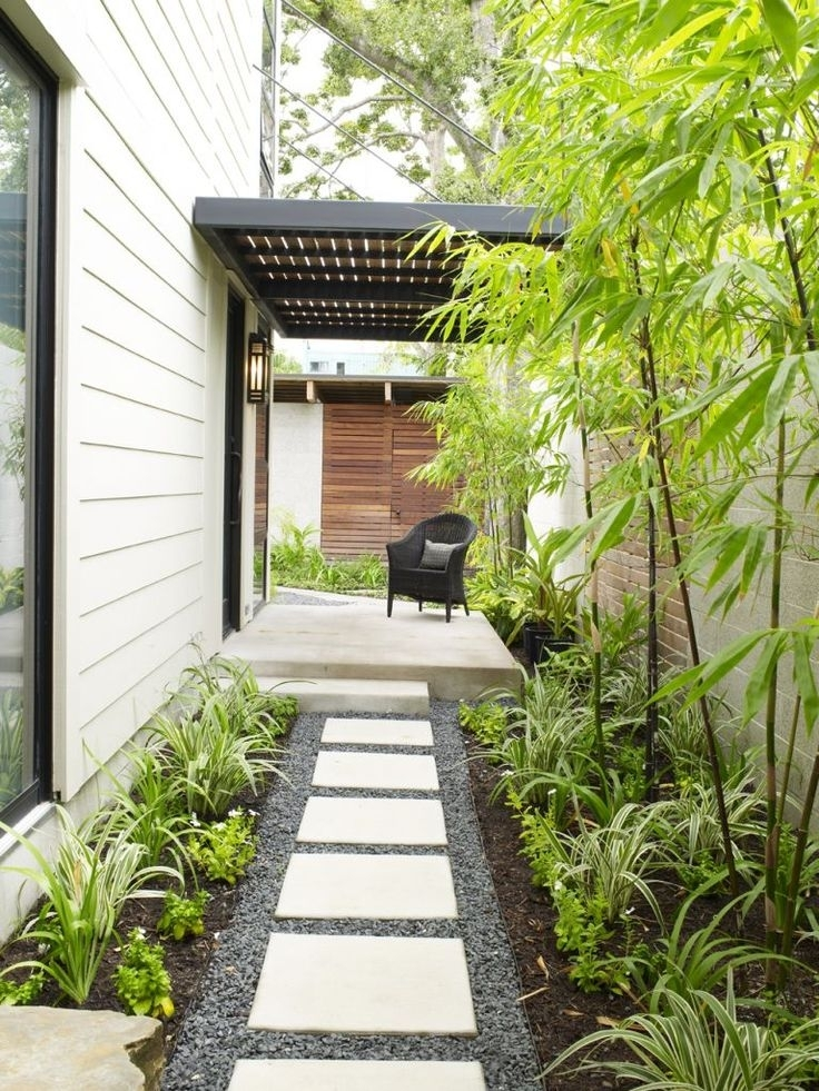 Landscaping Ideas For Narrow Side Yard - Garden Design on Side Yard Path Ideas id=11678