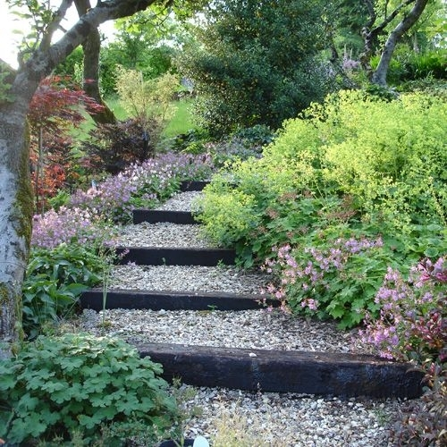 25+ Best Ideas About Sloping Garden On Pinterest   Sloped Garden with regard to Garden Ideas For Small Sloping Gardens