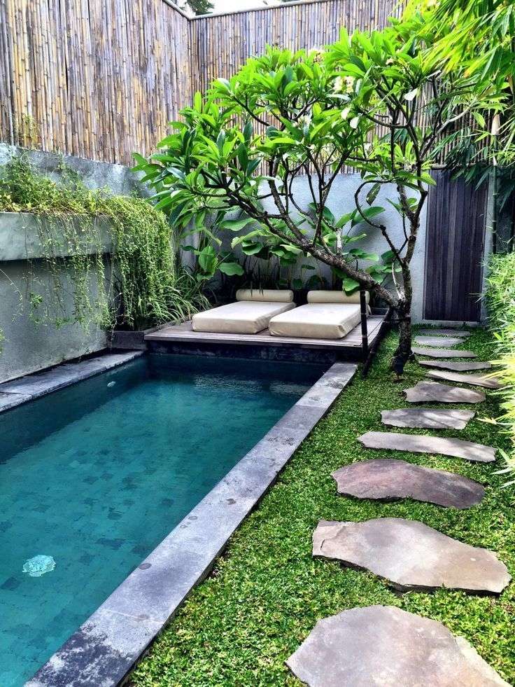 25+ Best Ideas About Small Backyard Pools On Pinterest | Small inside Landscape Design Small Backyard With Pool