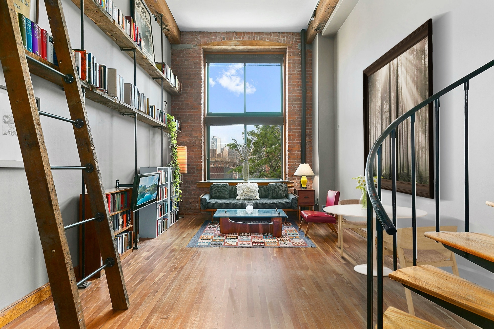 $770K Industrial Carroll Gardens Loft Is In A Converted 1938 Jute pertaining to Post Gardens Apartments