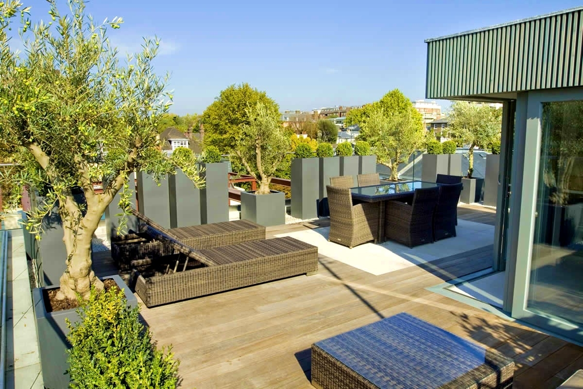 Apartments Astonishing Terrace Garden Roof Terraces And