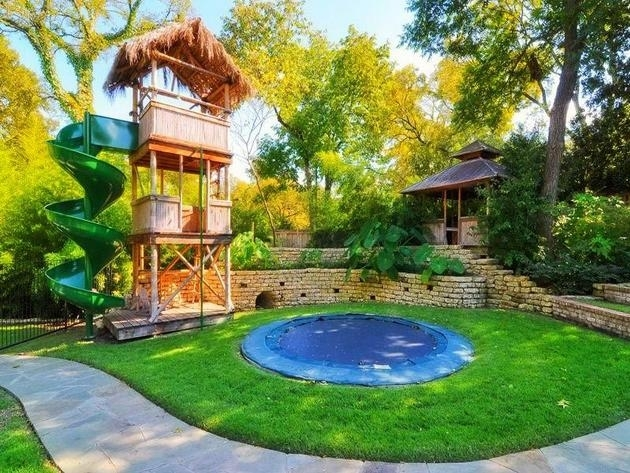 Backyard-Landscaping-Ideas-For-Kids-With-Small-Pool | Gardens inside Small Backyard Landscaping Ideas With Pool