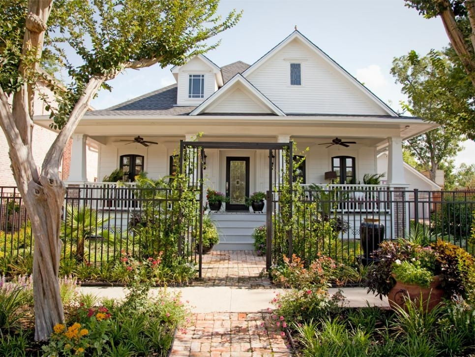 Boost Your Curb Appeal With A Bungalow Look   Hgtv within Landscaping Ideas For Front Yard Of Bungalow