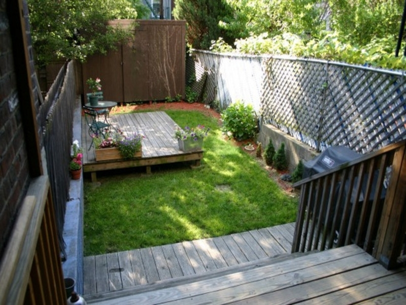 Chic Backyard Ideas For Small Yards On A Budget Small Front Yard pertaining to Landscaping Ideas For Small Front And Back Yards