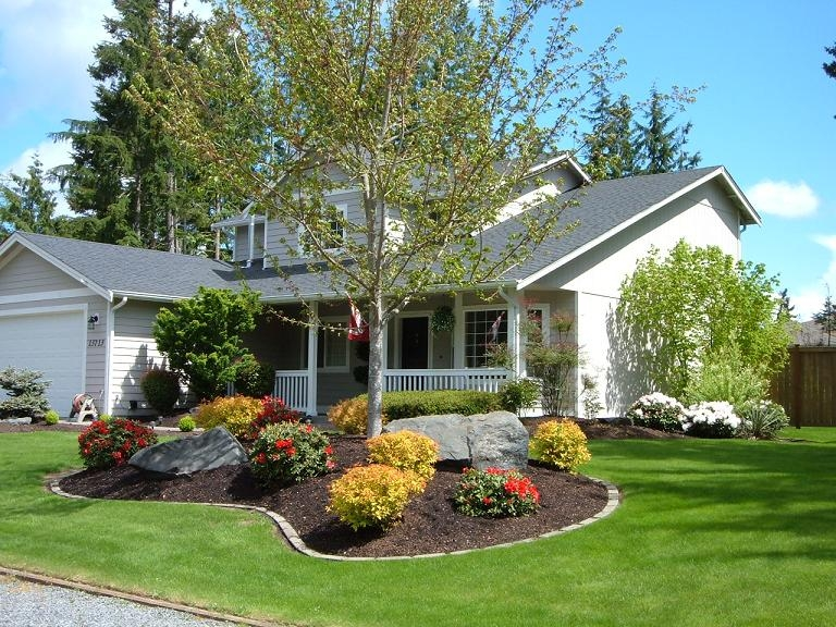 Collection In Landscaping Ideas For Front Of Home Landscaping pertaining to Landscaping Ideas Front Yard Mobile Home