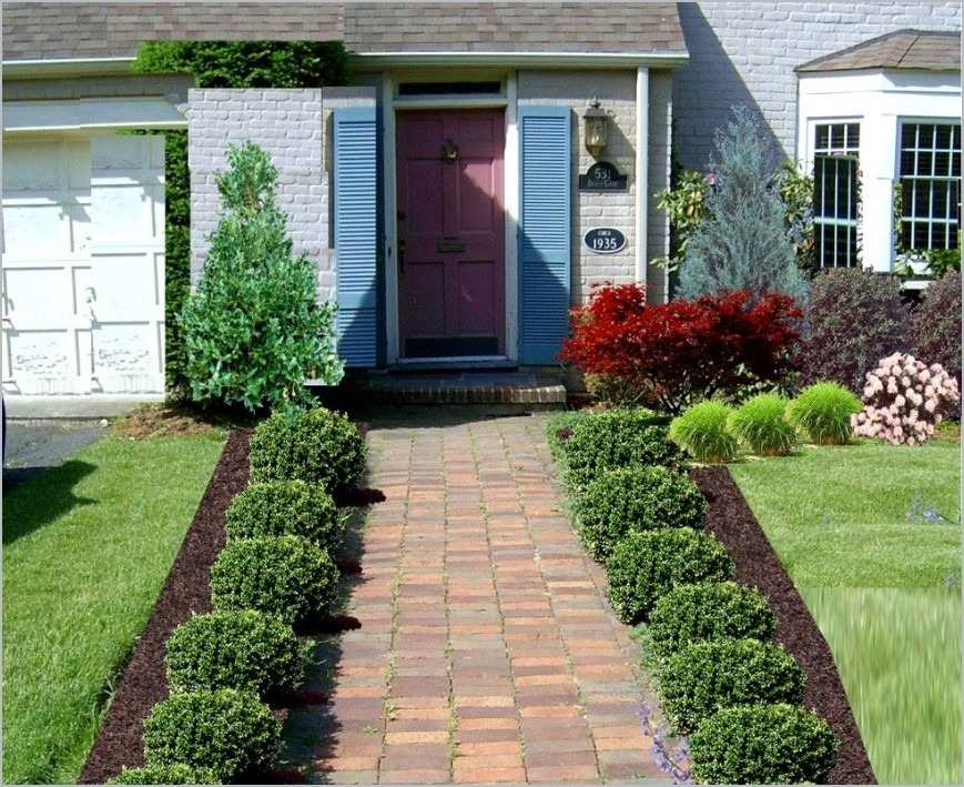Collection In Landscaping Ideas For Front Of Home Landscaping with regard to Landscaping Ideas For Front Yard Of A Mobile Home