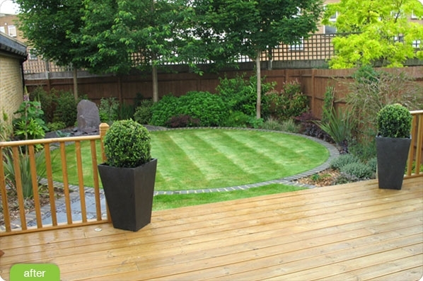 Dance Floor Preferred | Curb Appeal | Pinterest | Gardens, Circles pertaining to Landscape Garden Designs For Small Gardens