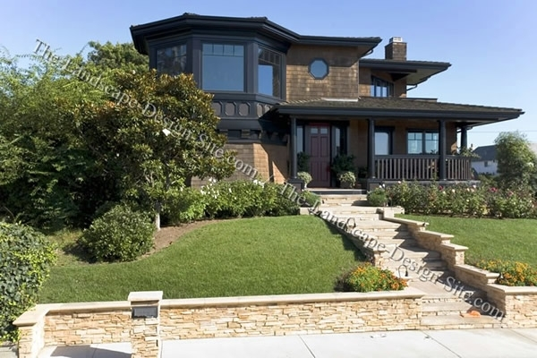 Entry Steps On On A Slope Ideas pertaining to Landscaping Ideas For Front Yard On A Slope