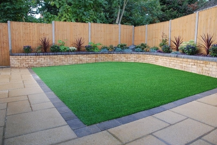 Fake Grass Ideas - Bing Images | House | Pinterest | Gardens with Garden Ideas For Small Square Gardens
