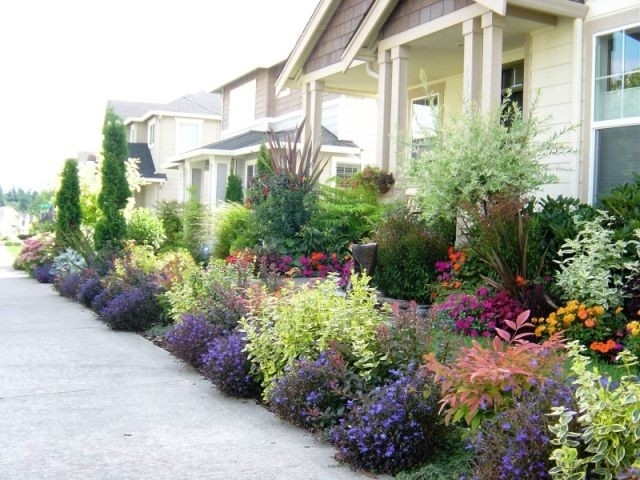Front Yard In The State Of Washington - Contemporary - Exterior with Landscape Ideas For Front Yard Zone 5