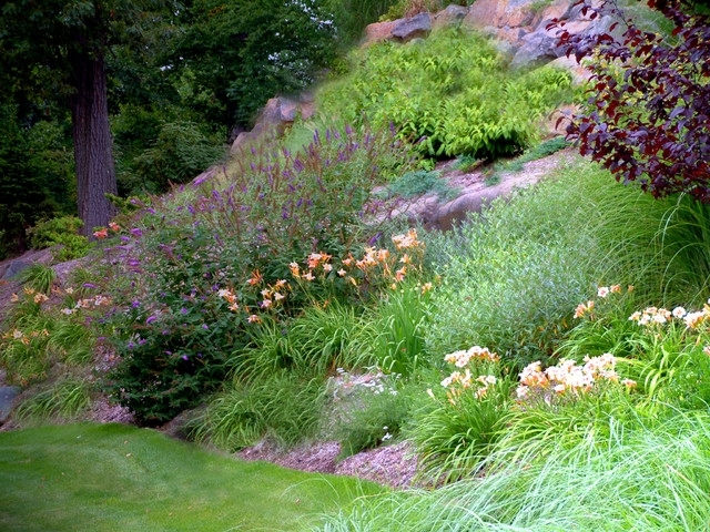 Front Yard Landscape Design - Eclectic - Landscape - New York - By within Landscaping Ideas For Front Yard On A Slope