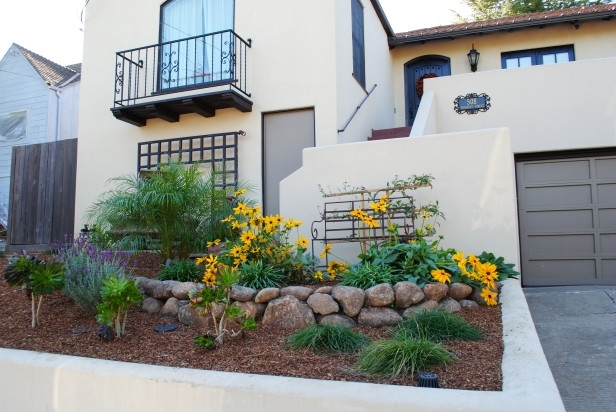 Garden Design: Garden Design With Front Yard Landscape Charming inside Diy Landscaping Ideas For Small Front Yard