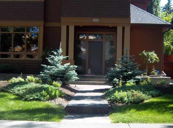 Garden Design: Garden Design With Landscape On Pinterest Stamped within Landscaping Ideas For Front Yard With Evergreens