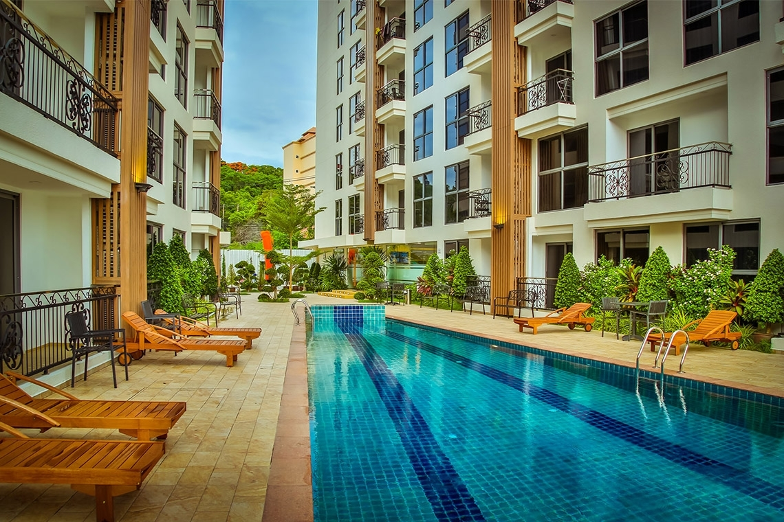 Global Top Group | City Garden Pratumnak - Condo For Sale Pattaya inside City Garden Apartments