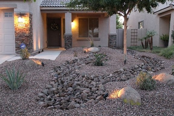 Low Maintenance Front Yard Landscaping | Front Yard Desert inside Landscaping Ideas For Front Yard Low Maintenance