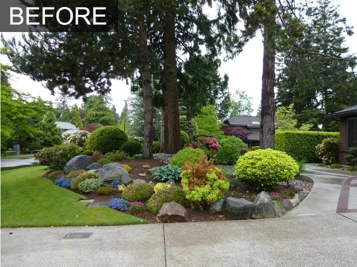 Low Maintenance Front Yard Landscaping | Front Yard Makeover 3 throughout Landscaping Ideas For Front Yard Low Maintenance