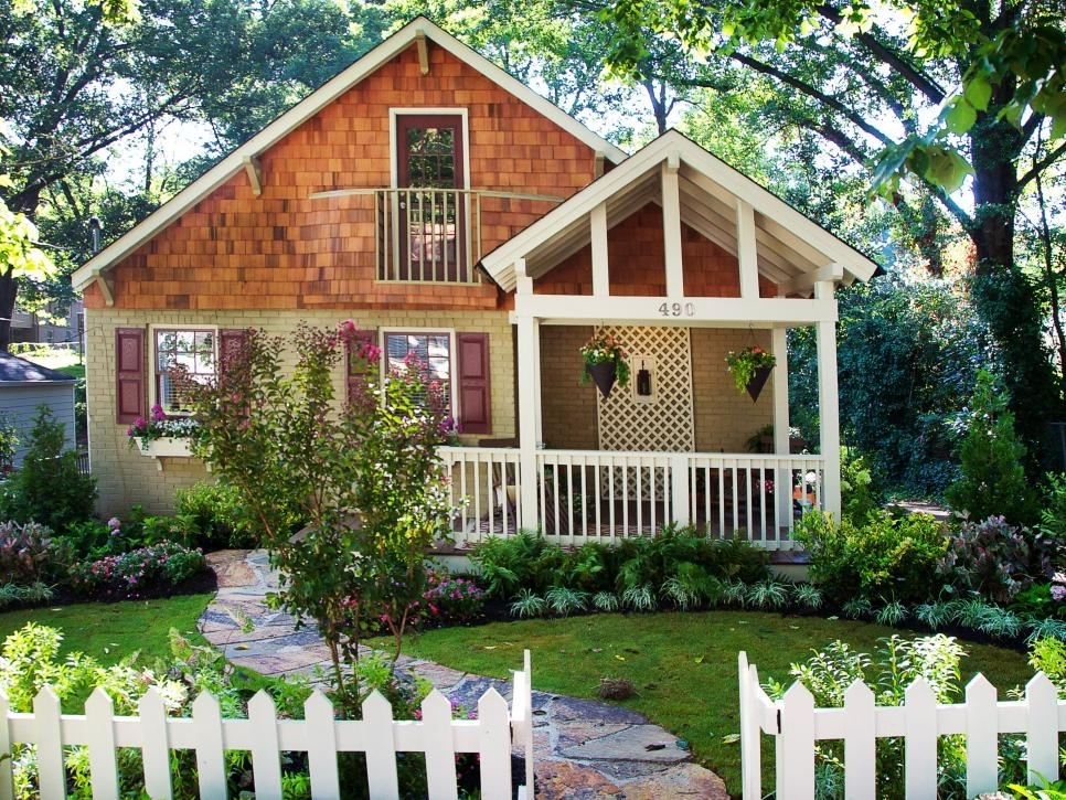 Lush Landscaping Ideas For Your Front Yard | Hgtv in Landscaping Ideas For Front Yard Fence