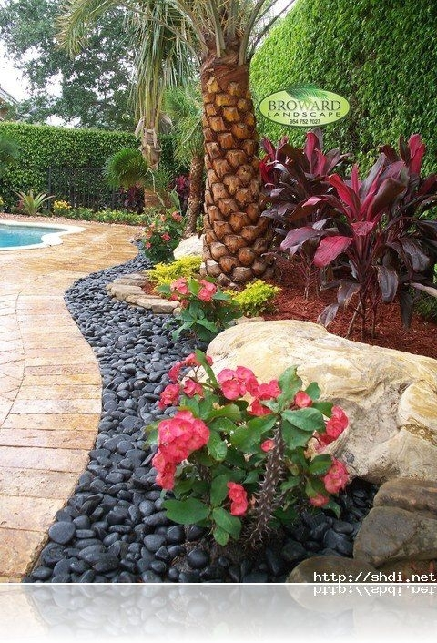 Rock Garden Ideas To Implement In Your Backyard | Tropical Gardens inside Landscaping Ideas For Small Front And Back Yards