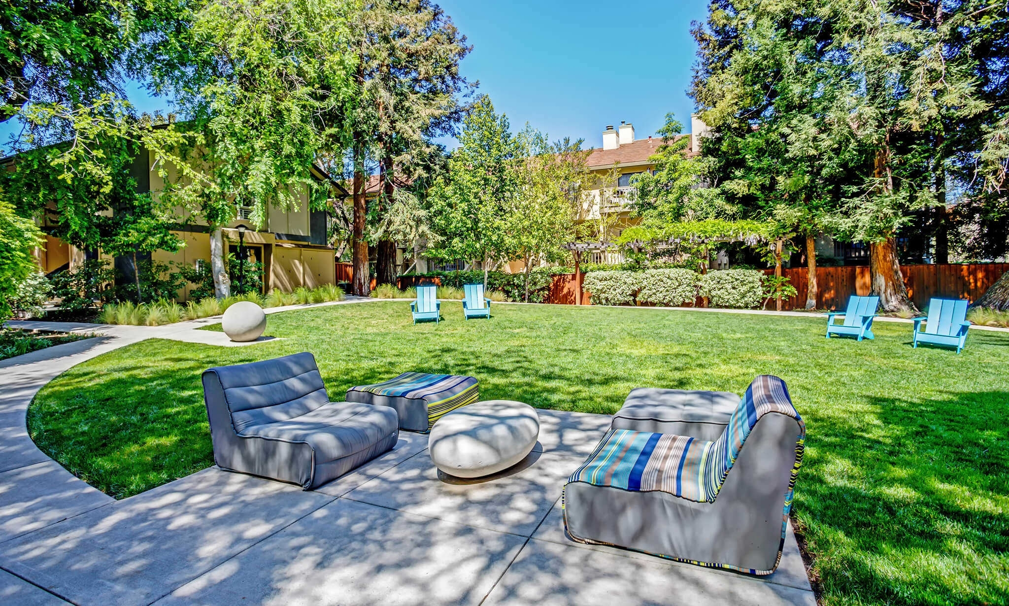 Santa Clara Apartments | Montecito | Prometheus in Garden Apartment Santa Clara