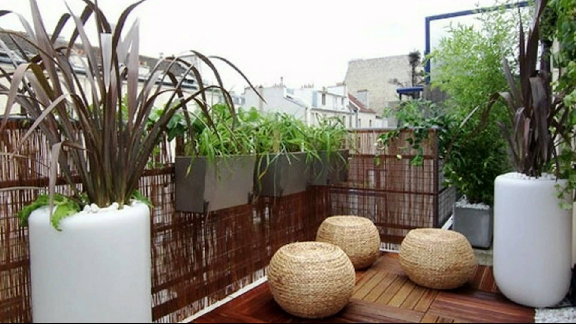 Terrace garden design pictures - Small Balcony Decorating Ideas Youtube For Best Apartment Terrace Garden Design Ideas
