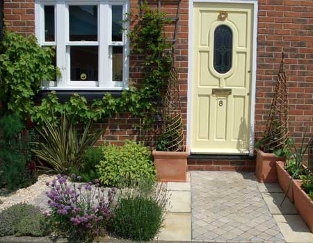 Small House Front Garden | Front Garden After Landscaping throughout Paving Ideas For Small Front Gardens