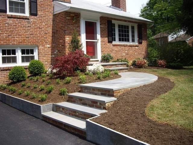 Split Foyer Home Landscaping : Landscaping ideas for front yard of split level home