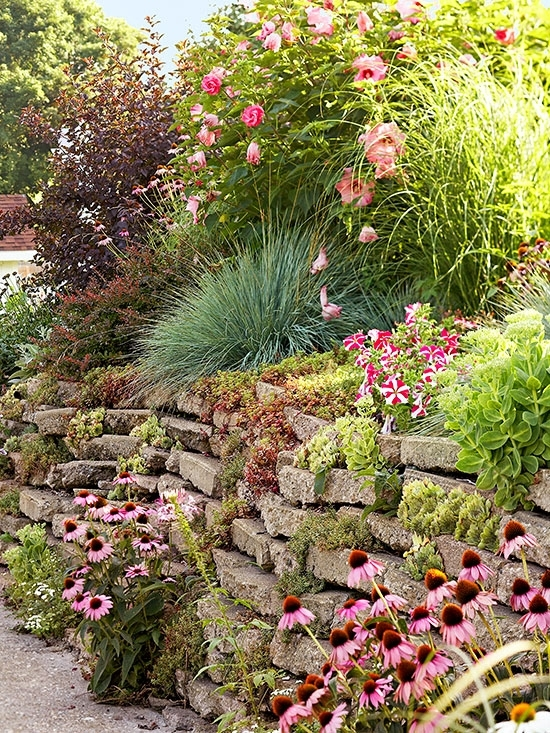 Tips For Taming A Slope intended for Garden Ideas For Small Sloping Gardens