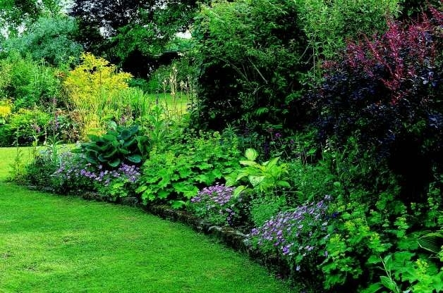 Triyae = Landscaping A Small Shady Backyard ~ Various Design intended for Garden Design For Small Shady Gardens