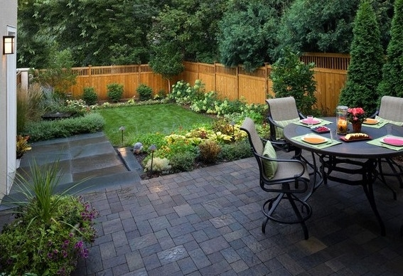 Walls-Interiors - Part 4 in The Best Small Backyard Landscaping Ideas