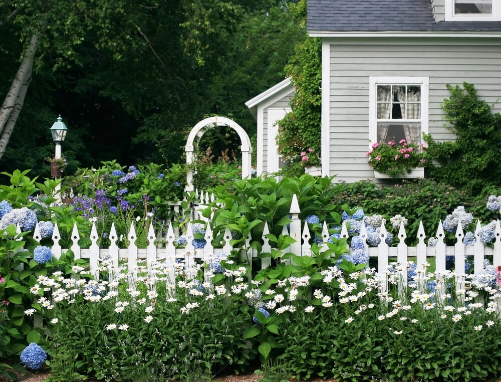 101 Fence Designs, Styles And Ideas (Backyard Fencing And More!) pertaining to Landscaping Ideas Front Yard English Garden