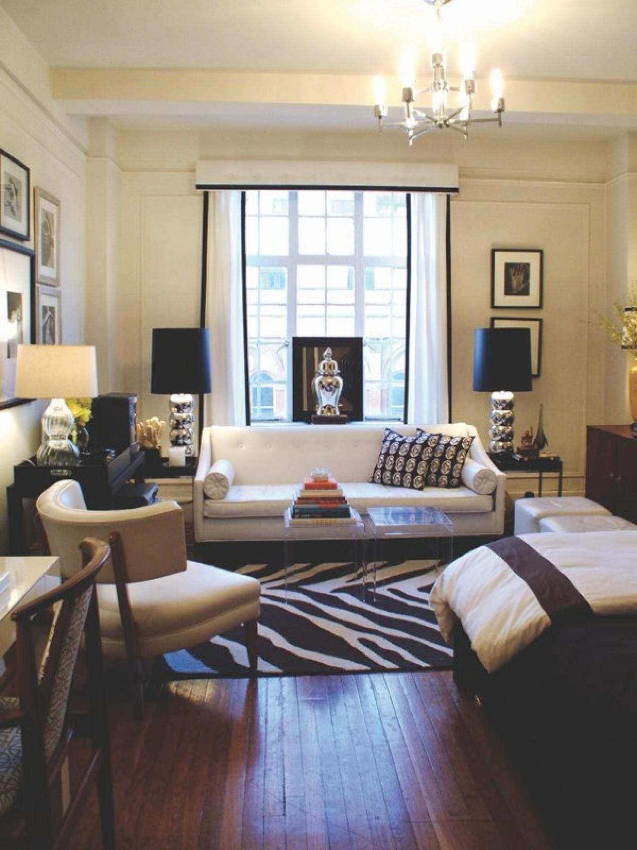 12 Design Ideas For Your Studio Apartment | Hgtv's Decorating inside Best Layout For Garden Woods Apartments Design Ideas