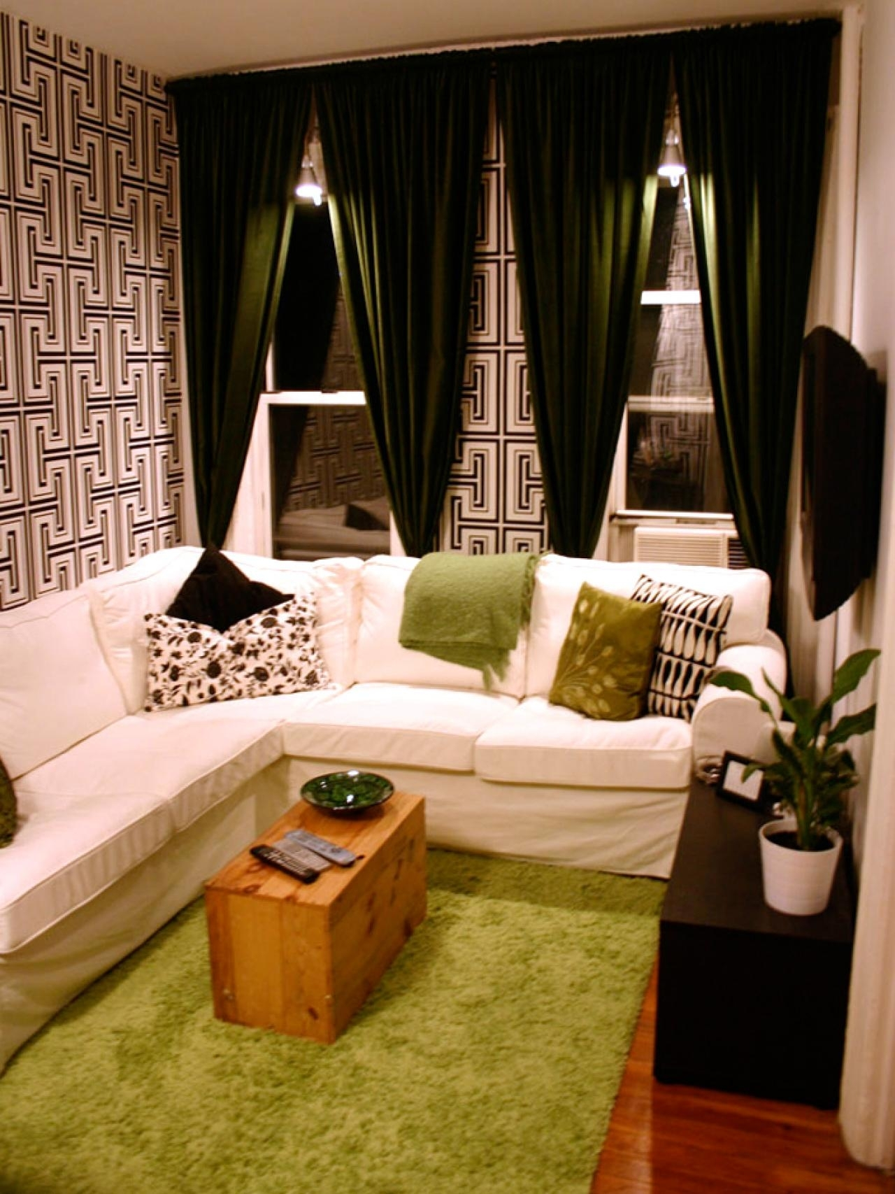 12 Design Ideas For Your Studio Apartment   Hgtv's Decorating pertaining to Best Layout For Forest Garden Apartments Design Ideas