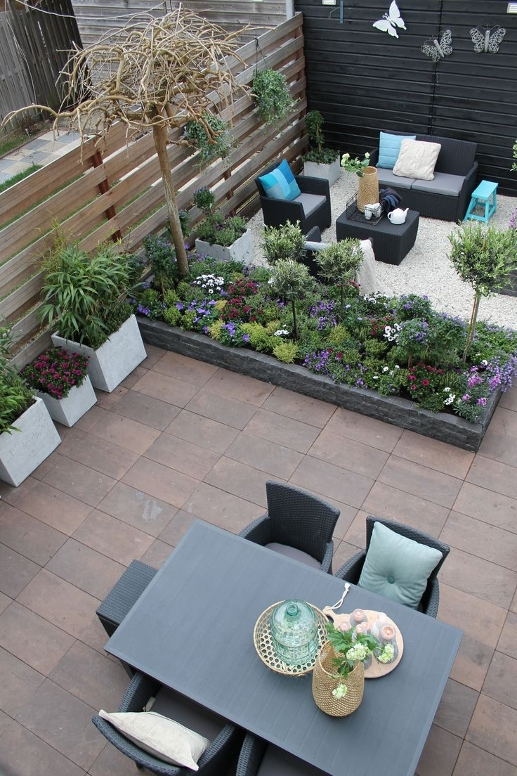 204 Best Beautiful Small Gardens Images On Pinterest within Small Garden Design Ideas
