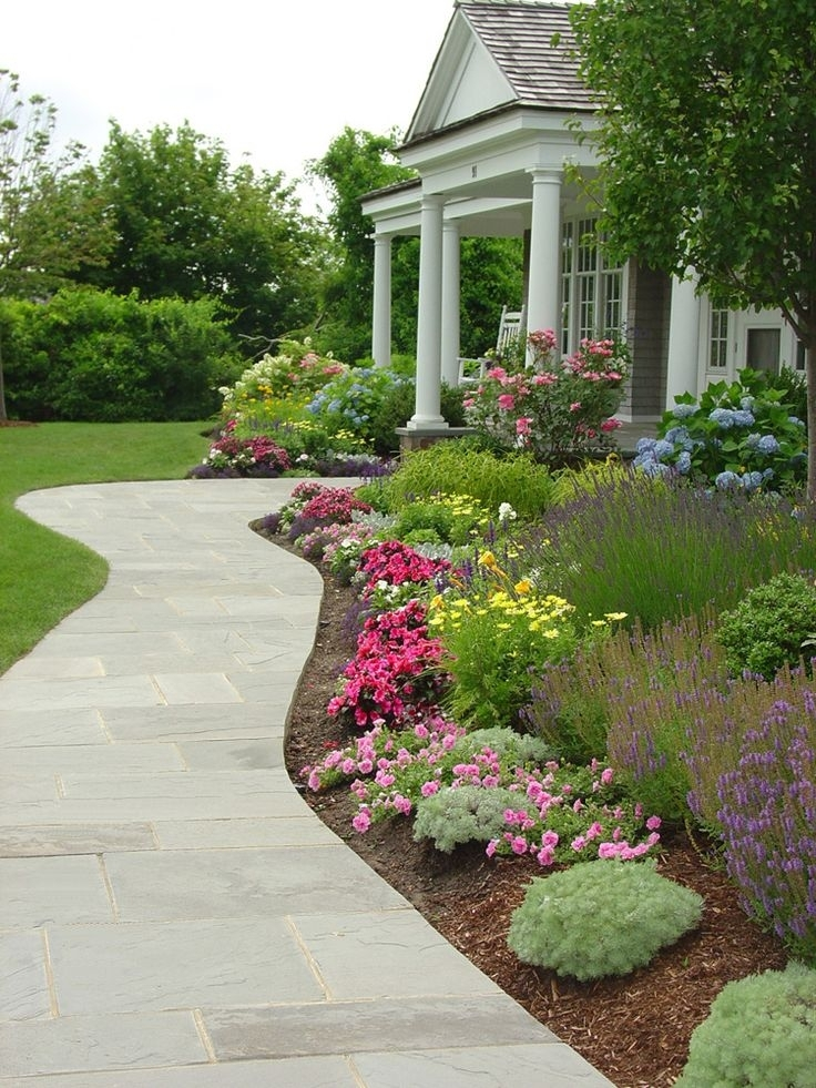 25+ Best Front Walkway Landscaping Ideas On Pinterest | Sidewalk throughout Landscaping Ideas For Front Yard Walkway