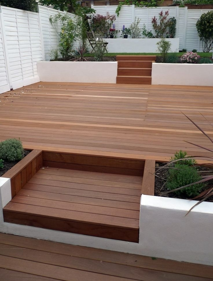 25+ Best Garden Decking Ideas Ideas On Pinterest | Decking Ideas inside Raised Decking Ideas For Small Gardens