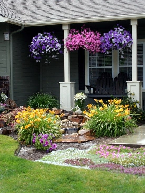 28 Beautiful Small Front Yard Garden Design Ideas - Style Motivation within Simple Landscape Designs For Small Front Yards