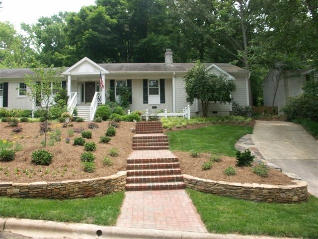 49 Best Front Yard Slope Images On Pinterest with Landscaping Ideas For Front Yard With Hill