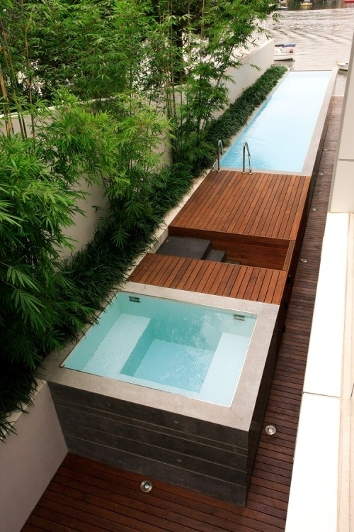 65 Awesome Garden Hot Tub Designs - Digsdigs for Small Garden Ideas With Hot Tub