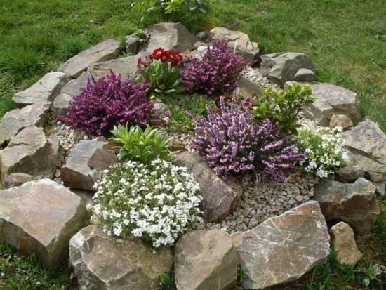 9 Best Rock Gardens Images On Pinterest with Rock Garden Designs For Front Yards