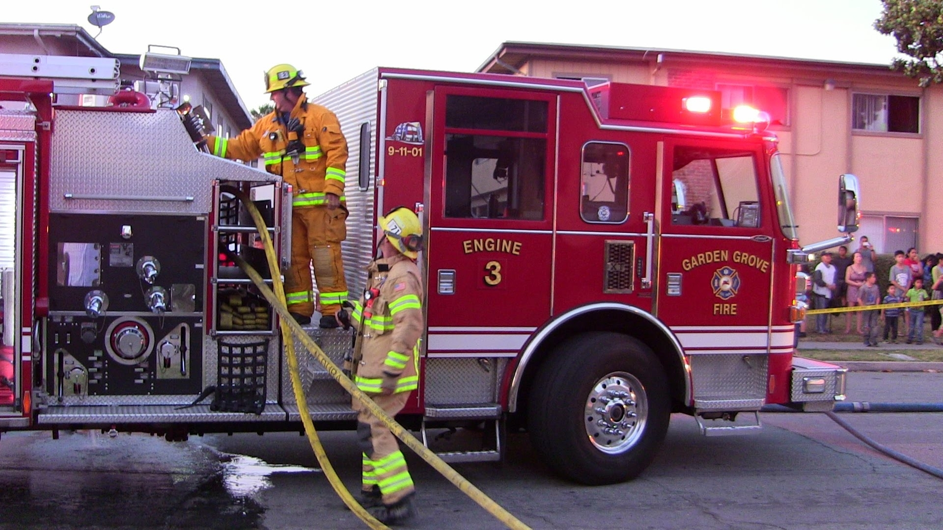 Apartment Fire Displaces 2 Families In Garden Grove - Youtube in Apartment In Garden Grove