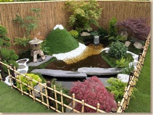 Backyard-Landscaping-Designs-With-Bonsai-Tree-Ideas-Small-Gardens for Gardens Designs For A Small Garden