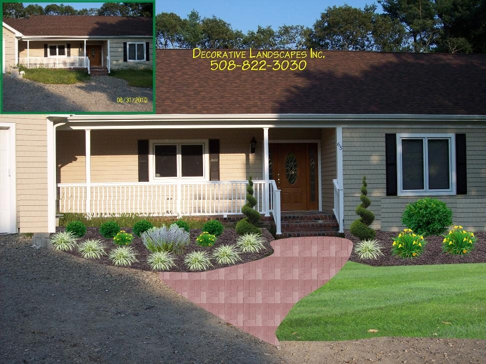 Landscaping Ideas For Front Yard Ranch Style Home