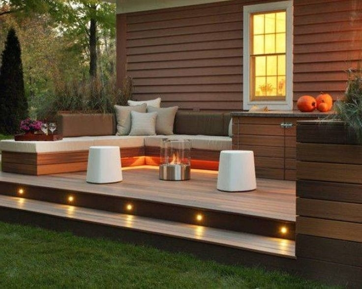 Best 20+ Small Backyard Decks Ideas On Pinterest | Back Patio in Raised Decking Ideas For Small Gardens