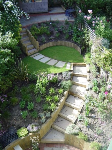 Best 20+ Terraced Landscaping Ideas On Pinterest | Rock Wall within Landscaping Ideas For Small Sloping Gardens