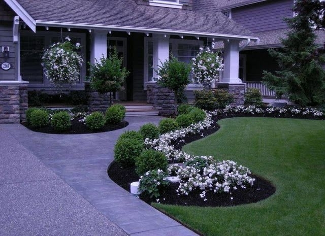 Best 25+ Front Yard Walkway Ideas On Pinterest | Front Sidewalk in Landscaping Ideas For Front Yard Walkway