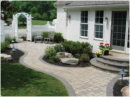 Best 25+ Front Yard Walkway Ideas On Pinterest | Front Sidewalk throughout Landscaping Ideas For Front Yard Walkway