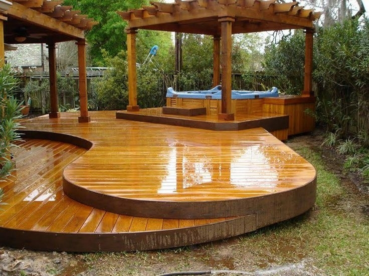 Best 25+ Hot Tubs Landscaping Ideas On Pinterest   Hot Tubs inside Small Garden Ideas With Hot Tub